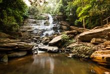 Tad Mok Waterfall Chiangmai Thailand