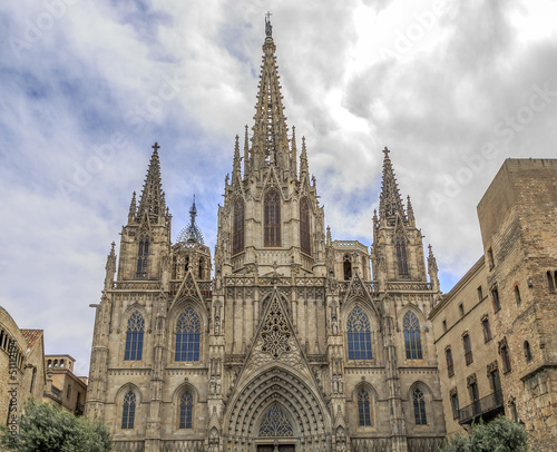Barcelona Cathedral Tablou Canvas