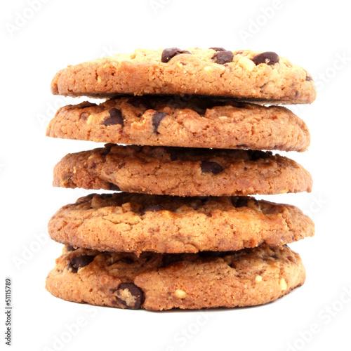 Cookies Au Chocolat Kaufen Sie Dieses Foto Und Finden Sie