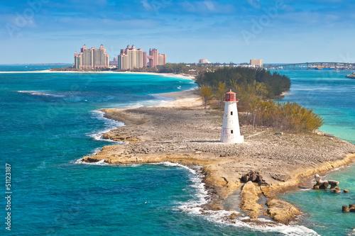 Photo Stands Caribbean Nassau, Bahamas