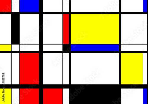 Photo  Mondrian Digital Art