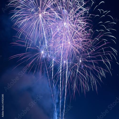 Aluminium Prints Bestsellers Colorful fireworks