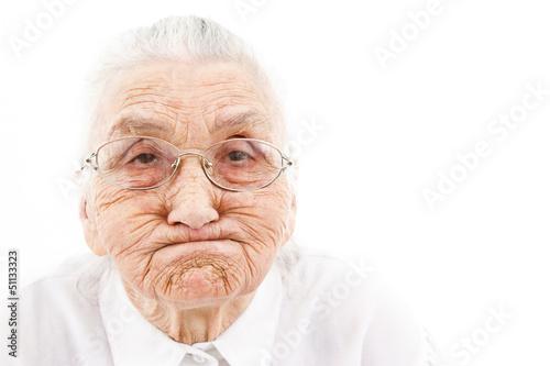 Fotografia  funny grandma