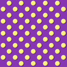 Vector Illustration Of Yellow ...