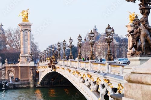 Papiers peints Paris Pont alexandre iii in Paris