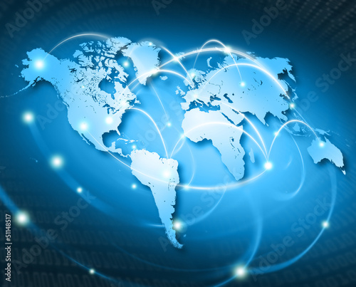 connected world USA #51148517