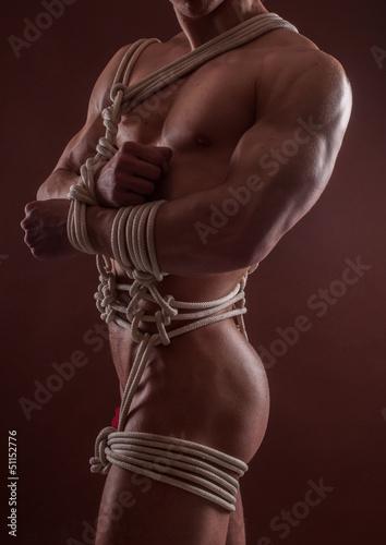 Photo  Male bondage