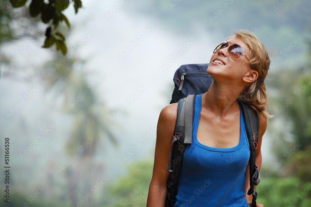 Fototapety, obrazy: Tourist