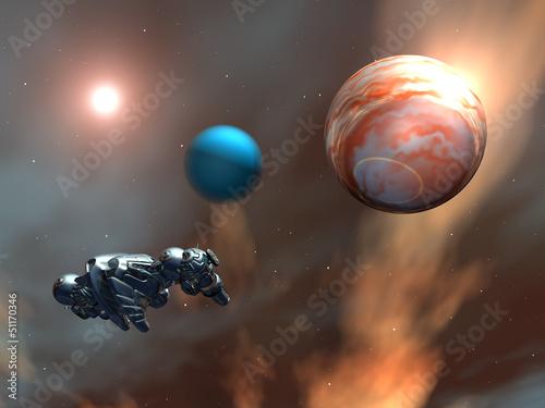 alien-planet-with-alien-spaceship