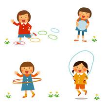 子供の外遊び