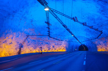 Laerdal Tunnel, Norway, The Lo...