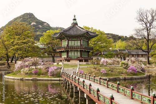 Foto op Canvas Seoel Pavilion of Far-Reaching Fragrance
