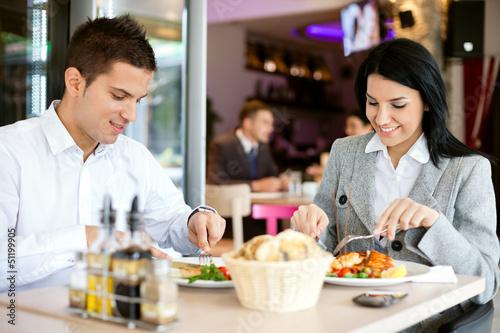 Fotografía  business lunch