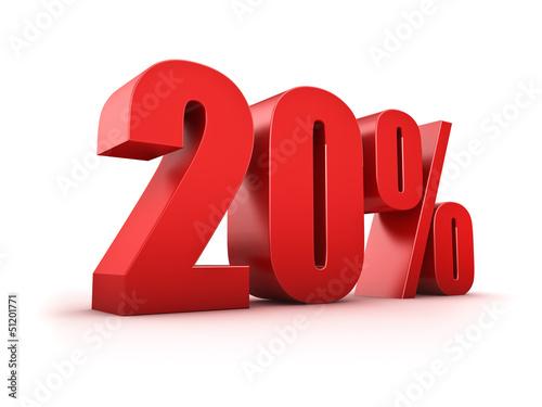 Valokuva  20 Prozent