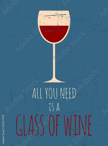 plakat-retro-czerwonego-wina