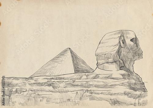 ilustracja-piramida-sfinks
