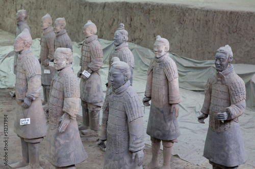 Keuken foto achterwand Xian esercito terracotta xi'an