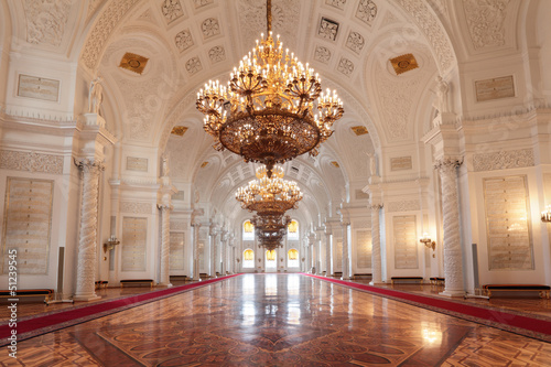 Grand Kremlin Palace, Georgievsky hall Fototapete