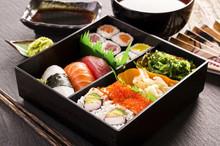 Sushi In Bento Box
