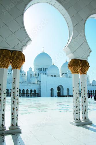 Keuken foto achterwand Abu Dhabi Sheik Zayed Moschee