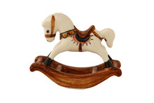 Thai Porcelain Rocking Horse