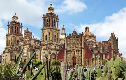 Staande foto Mexico cathédrale de Mexico