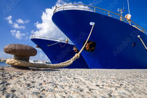 Obraz na płótnie Navi Ferme al porto