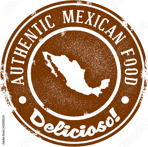 Fotografie, Obraz  Authentic Mexican Restaurant Food