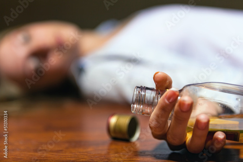 Fotografie, Obraz  Stop alcohol!
