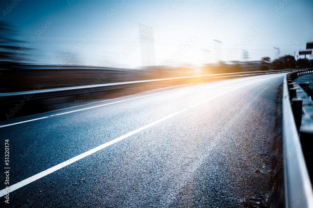 Fototapety, obrazy: traffic of road