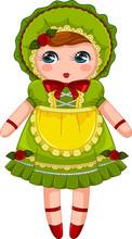 Japanese Bunka Doll