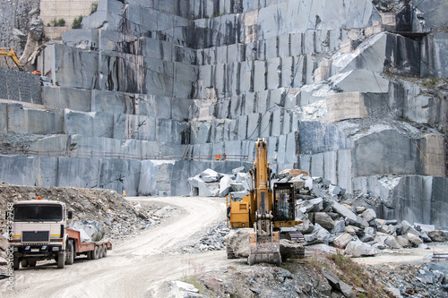 Stampa su Tela Granite quarry