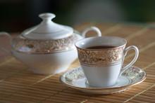 Filiżanka Kawy I Cukiernica