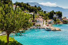 Beautiful Adriatic Bay And The...