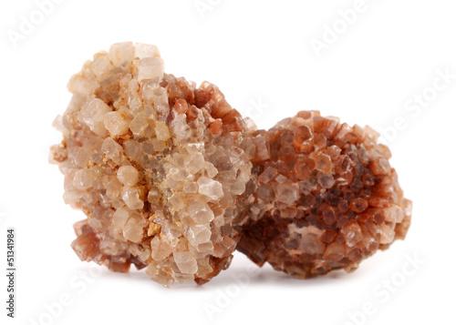 Photo Aragonite carbonate mineral stone rock