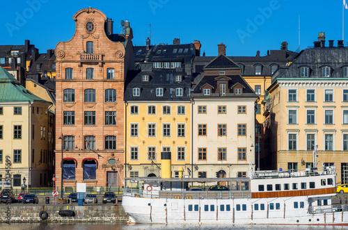 Staande foto Stockholm Gamla Stan. Stockholm, Sweden