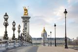Fototapeta Paryż - Paris Fance Pont Alexandre III