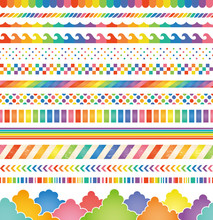 虹 レインボー 広告 イラスト