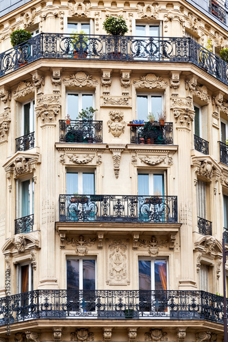 Paris building Poster