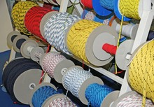 Ropes And Cables And Cords For Boating Sailing And Climbing For