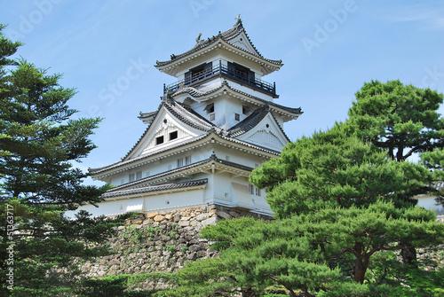 Photo  Donjon du château de Kôchi, Shikoku