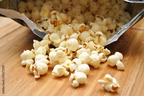Fotografia, Obraz  Bag of Cheesy Popcorn Spilling Out