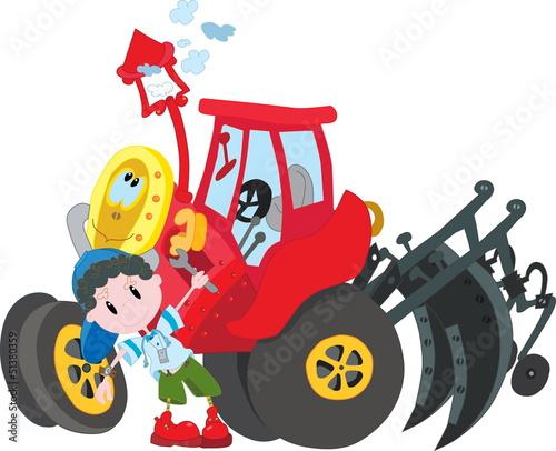 Fotobehang Boerderij Agriculture