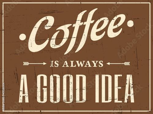 Retro Coffee Poster - 51381914