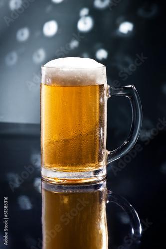 Photo sur Toile Biere, Cidre Bier on Disco Bar