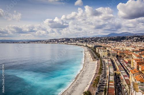Fotobehang Nice Promenade des Anglais in Nice, France