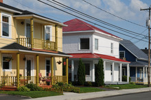 Quebec, The Small Village Of S...