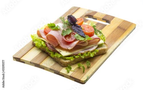 Recess Fitting Snack sandwich
