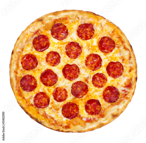 Photo  Pepperoni Pizza
