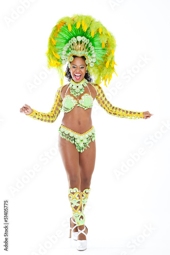 Photo  Brazilian Samba Dancer